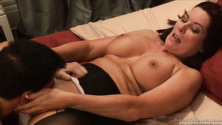Magdalene st. michaels is on fire in steamy oral action with dane cross