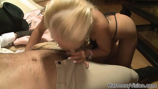 Sexy blonde babe crying out with sheer lust as his cock enters her ass