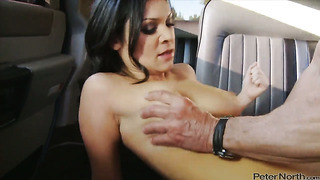 Adriana kelly giving deep throat job to peter north