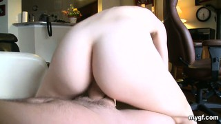 Elegant blonde with a pleasing ass and nice tits looks to satisfy her sexual needs