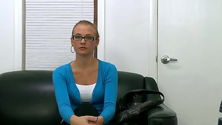 Natasha sheds her innocent look on the casting couch