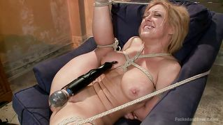 Blond, Kreun, Bdsm, Inter-Ras, Vibrator