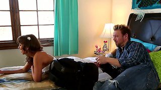 Riley reid gets naked, and massaged, too