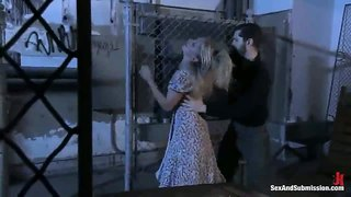 Dia zerva cuffed and spanked by john henry