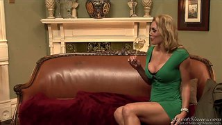 Milf in a tight dress magdalene st. michaels kissing