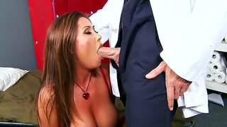Big boob kianna dior visiting her doctor