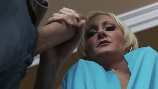 Busty milf torrey pines takes advantage of a big younger cock