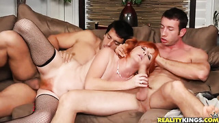 Ramon is one hard-cocked guy who loves screwing mature sasha brand in her butt before oral job