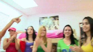Erotik, Teen, Group, Blowjob, Blond