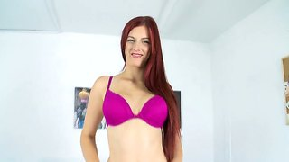 Young mira enjoys posing and undulating that gorgeous body in naughty solo scene