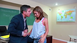 Teacher mick blue fucks his student presley hart very hot