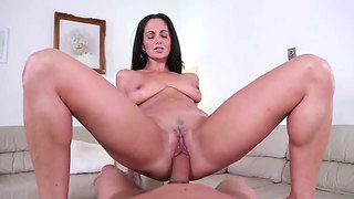 Brunette hottie ava addams enjoys pleasing and fucking hunk will powers