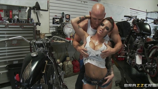 Brazzers - big-booty biker chick christy mack takes big-dick