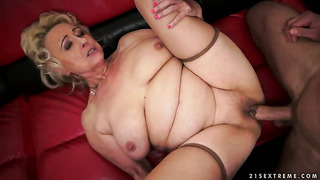 Blowjob, Blowjob, Blond, Granny, Alt Und Jung