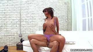 Lily paige is a hot bodied tattooed milf who is ready to fuck all day long. horny woman with big fake tits gets her trimmed bush drilled by stiff dick in a variety of positions. but she can't get enough.