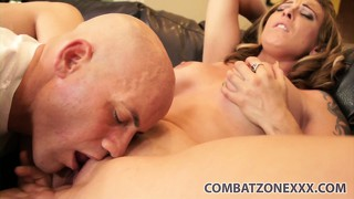 Bald lecher seduces lusty bitch with beautiful name serena makes