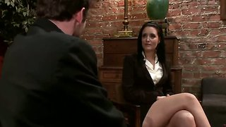 Kimberly kane wants to be gangbanged in office