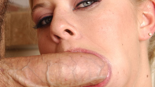 Riley evans has her wet pussy nailed by a big dick