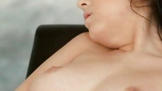 Sexy brunette babe heather joy solo sex