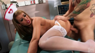 Asian nurse fucks the out of her paitient