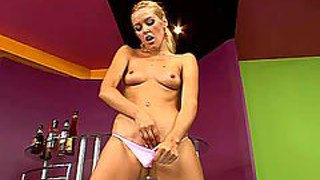 Sophie moone is a lovely blond-haired babe with long legs and sexy ass. perky titted chick removes her panties and then makes her fingers disappear in her fuck hole. watch stunning sophie moone bang herself.