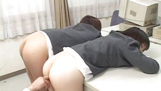 Japanees, Milf, Bunette, Anaal, Uniform