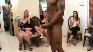 Real cfnm matures sharing strippers dicks