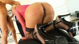 In spite of looking so heavenly, hot blondie angelic takes cock in the ass like a whore