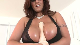 Busty and horny milf eva notty enjoys large cock in nasty hardcore pov session