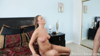 Alexis adams is two steps away from being completely fucked by big stick