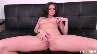 Tori black is ready to get down to business and toy her sweet twat