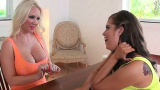 Unforgetable molly cavalli talks to her friend her secret wish