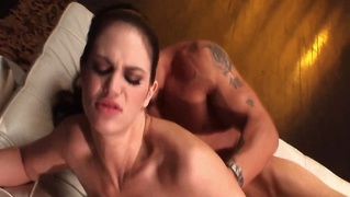 Classy pornstar fucked from behind and can't get enough