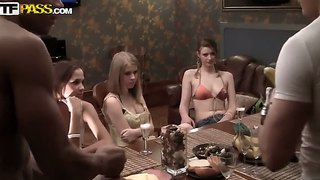 Great gangbang with a fucking amazing whores, enjoy!