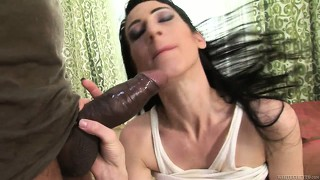 Hairy how is sucking hug, black rod and gets her nice boobs squeezed