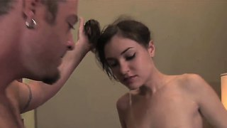Young and horny sasha grey enjoys deep sucking a huge cock in amazing blowjob session