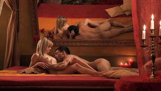Poesie, Eroties, Oraal, Blond, 69