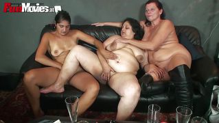 Bbw is big enough for two whores