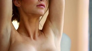 Superb busty mature emily addison really enjoys hard session of solo fingering