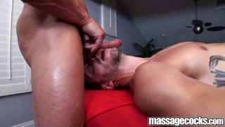 Massagecocks balls deep