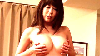 Akari minamino surprises her hubby with gorgeous strip dance