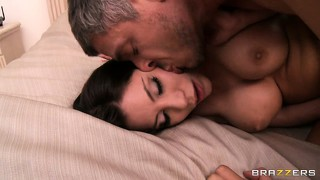 Subliminal message received and this hot latina licks his jizz