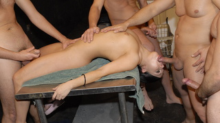 Gangbang, Group, Vierer, Group, Interracial