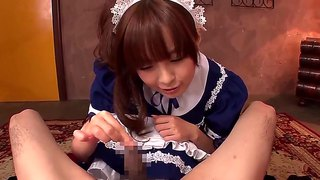 Hirono imai gets covered in sticky nectar on camera for your viewing pleasure