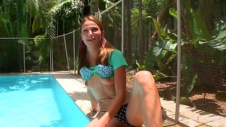 Young college chick roxy k tastes really fat dick with full pleasure