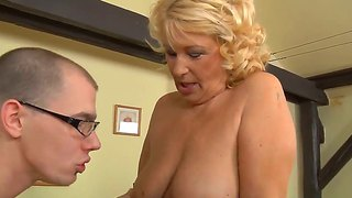 Irrational fear of being fucked by hungry milf