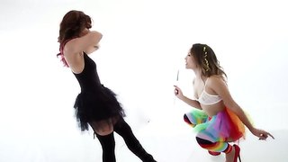 Kristina rose and reena sky are naughty lesbians