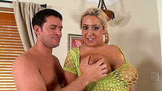 She has her titties played with by preston parker