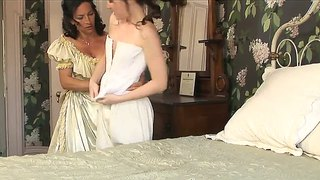 Lesbian bride has been worn out by cunnilingus