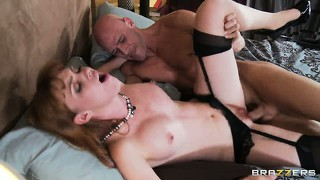 She loves how he shows her exactly how to suck his cock the right way
